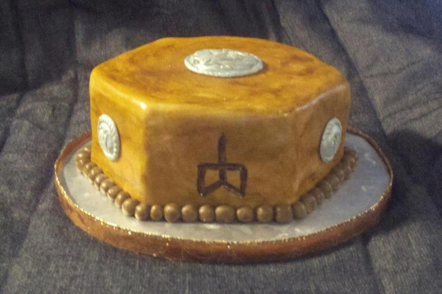 Leather And Branding on Cake Central