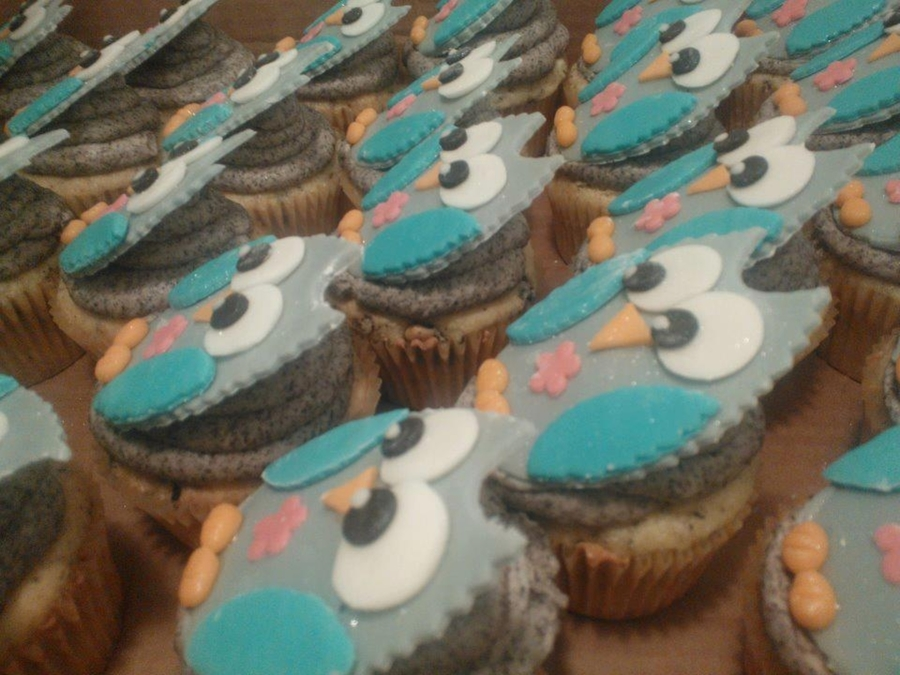 Owl Cupcakes on Cake Central