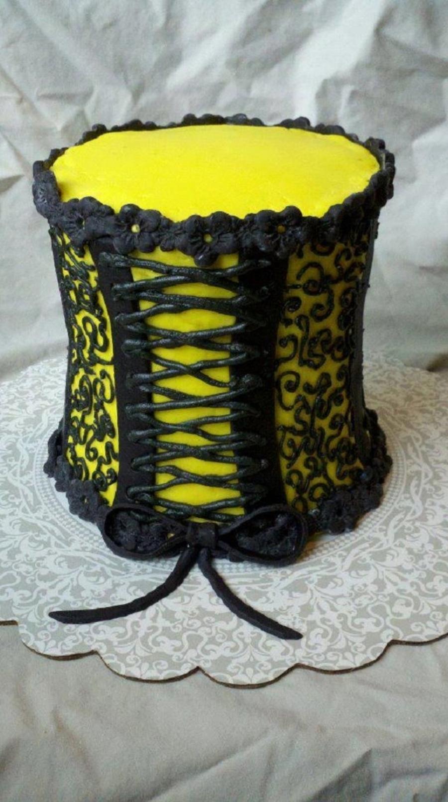 Corset Cake Cakecentral Com