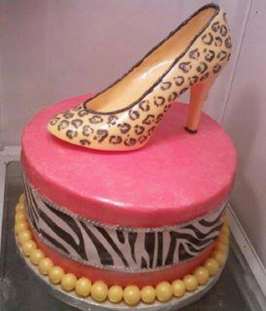 Chocolate Shoe on Cake Central