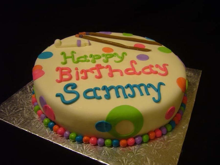 Prime Artist Birthday Cake Cakecentral Com Personalised Birthday Cards Paralily Jamesorg