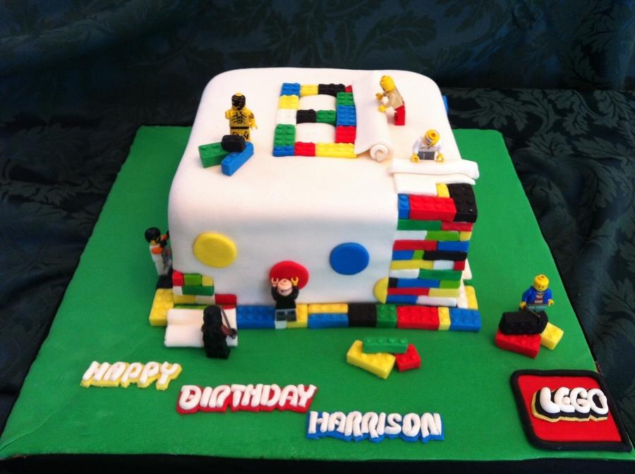 Lego Birthday Cake - CakeCentral.com