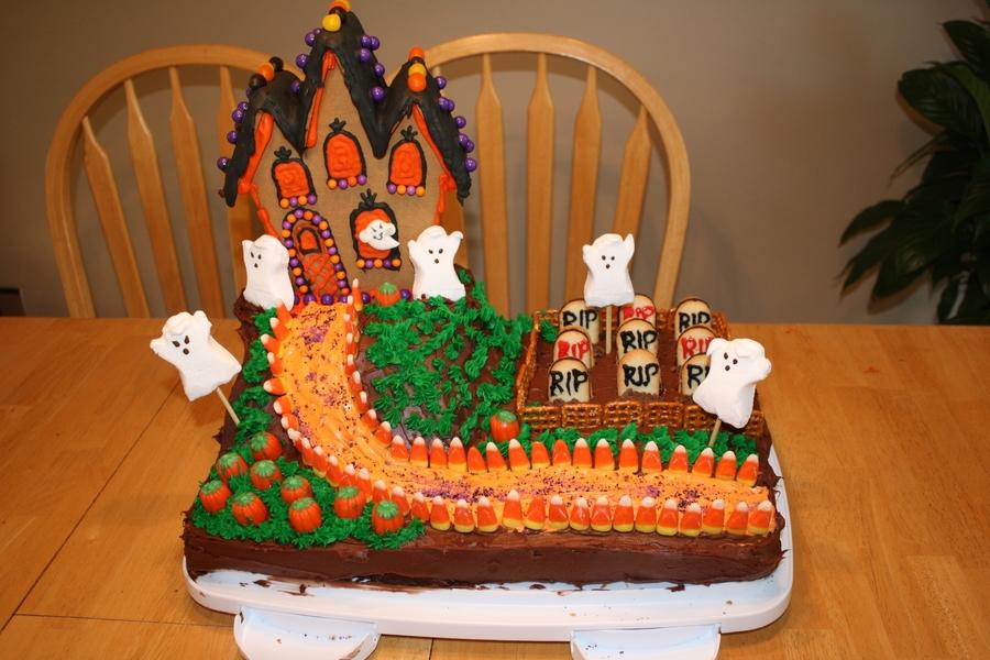 Haunted Mansion Cake Recipe