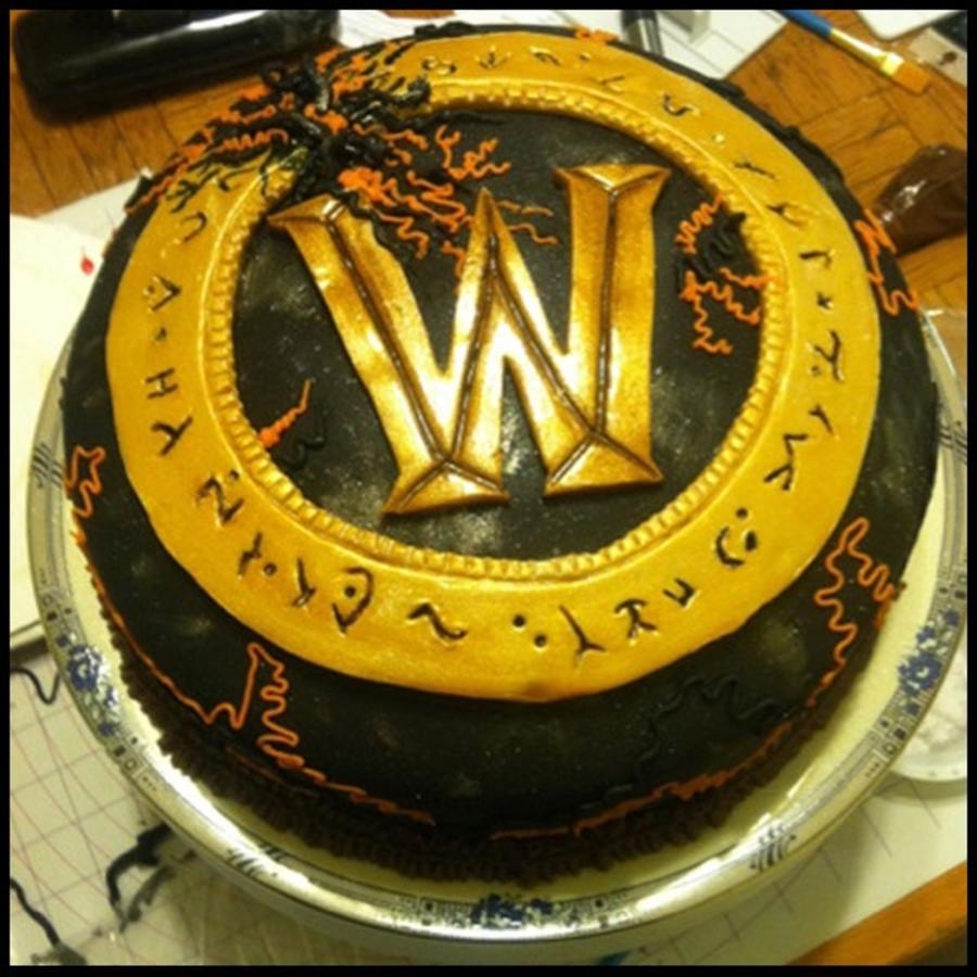 World Of Warcraft Chocolate Cake