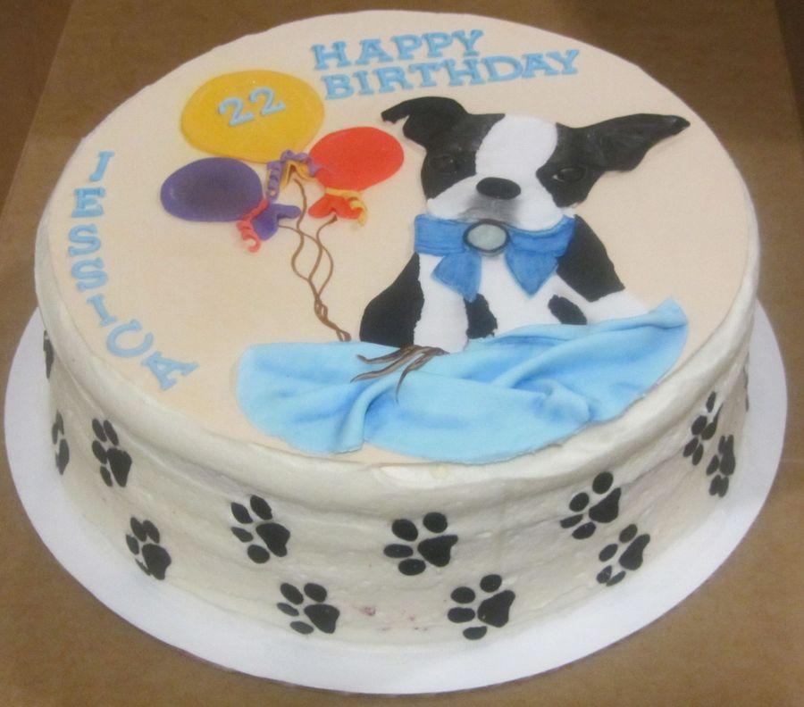 Boston Terrier Cake Topper Cakecentral Com