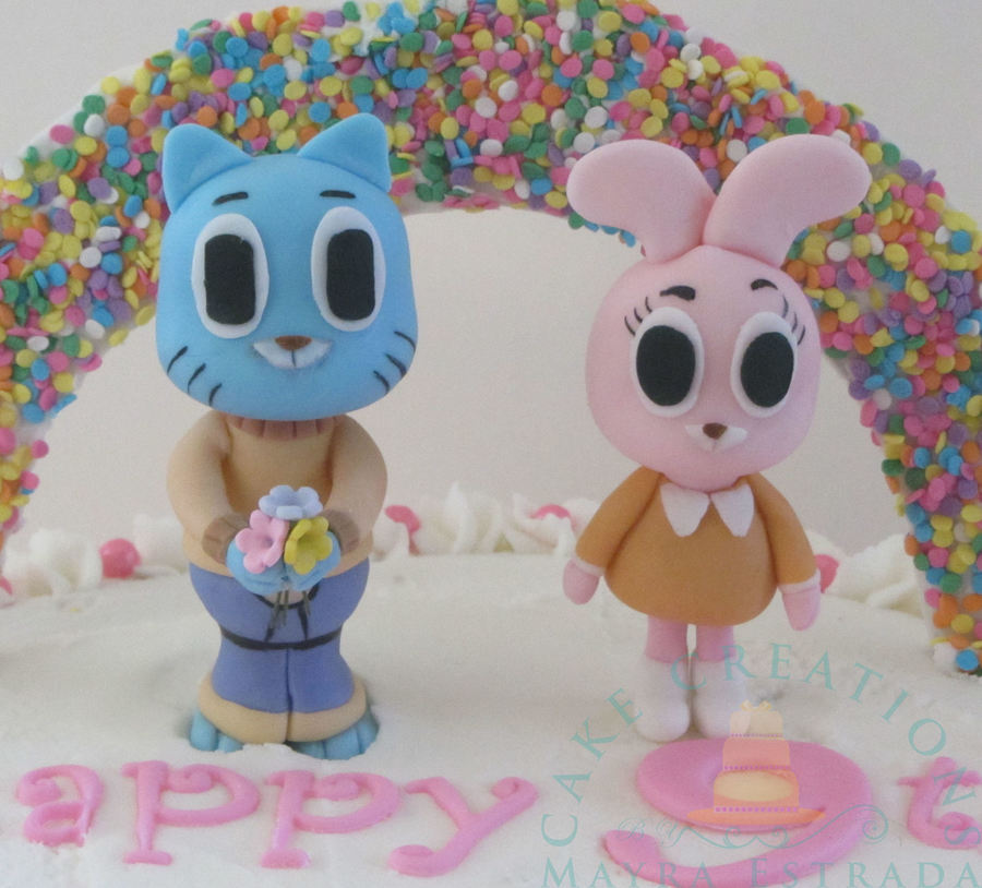 The Amazing World Of Gumball Cakecentral Com
