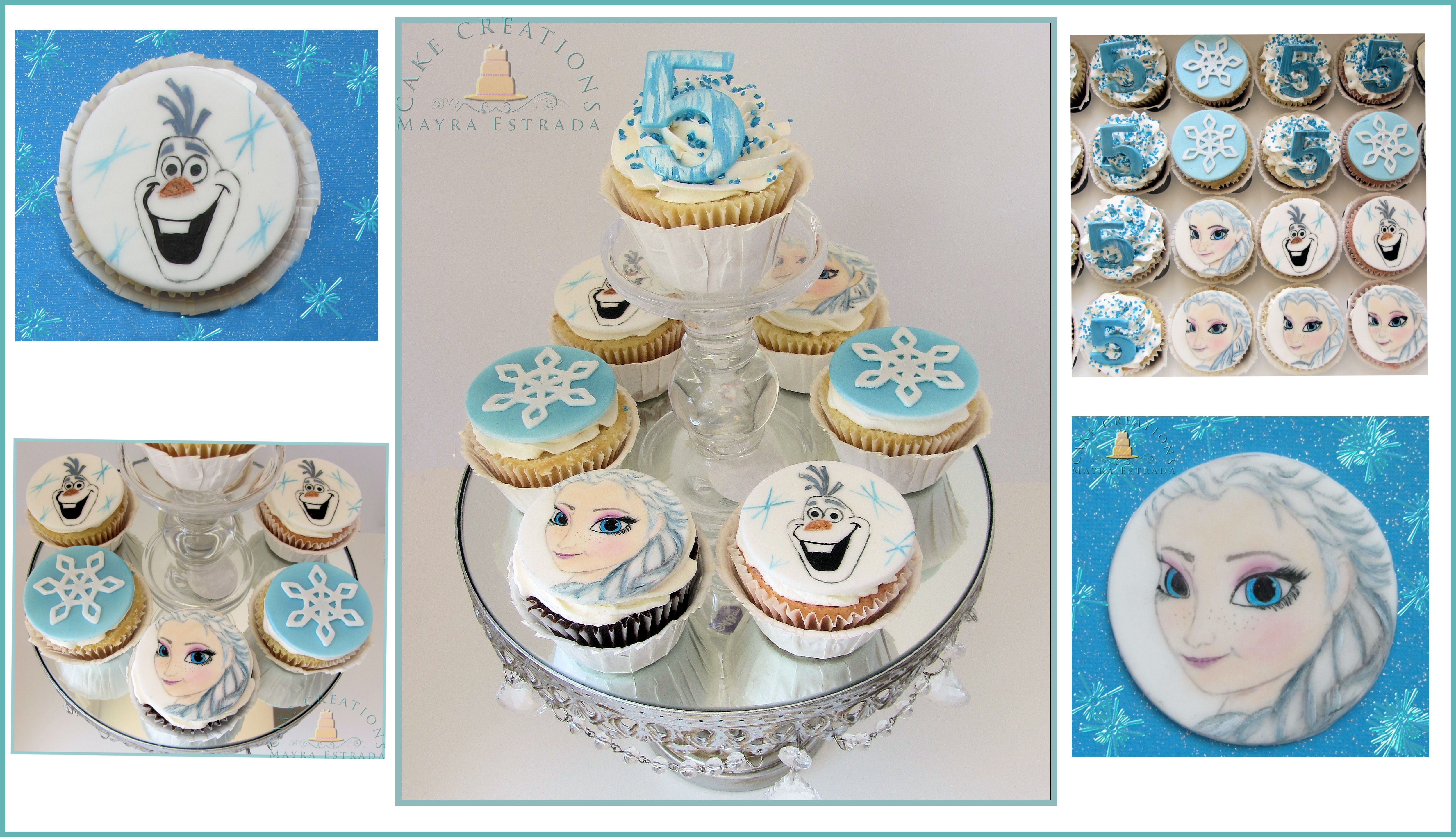 Frozen Cupcake Toppers Cakecentral Com