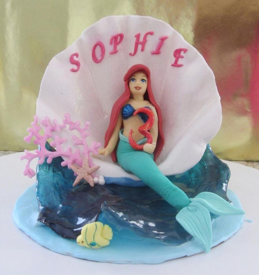 Ariel Cake Decorations Ariel Cake Topper Disney Princesses Cakecentralcom