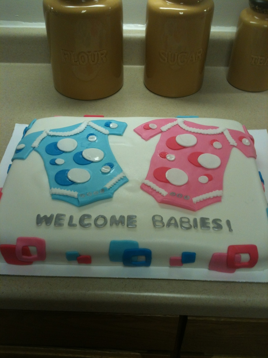 Baby Shower Boy & Girl on Cake Central