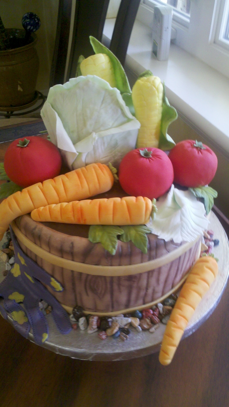 Vegetable Patch Cake - CakeCentral.com