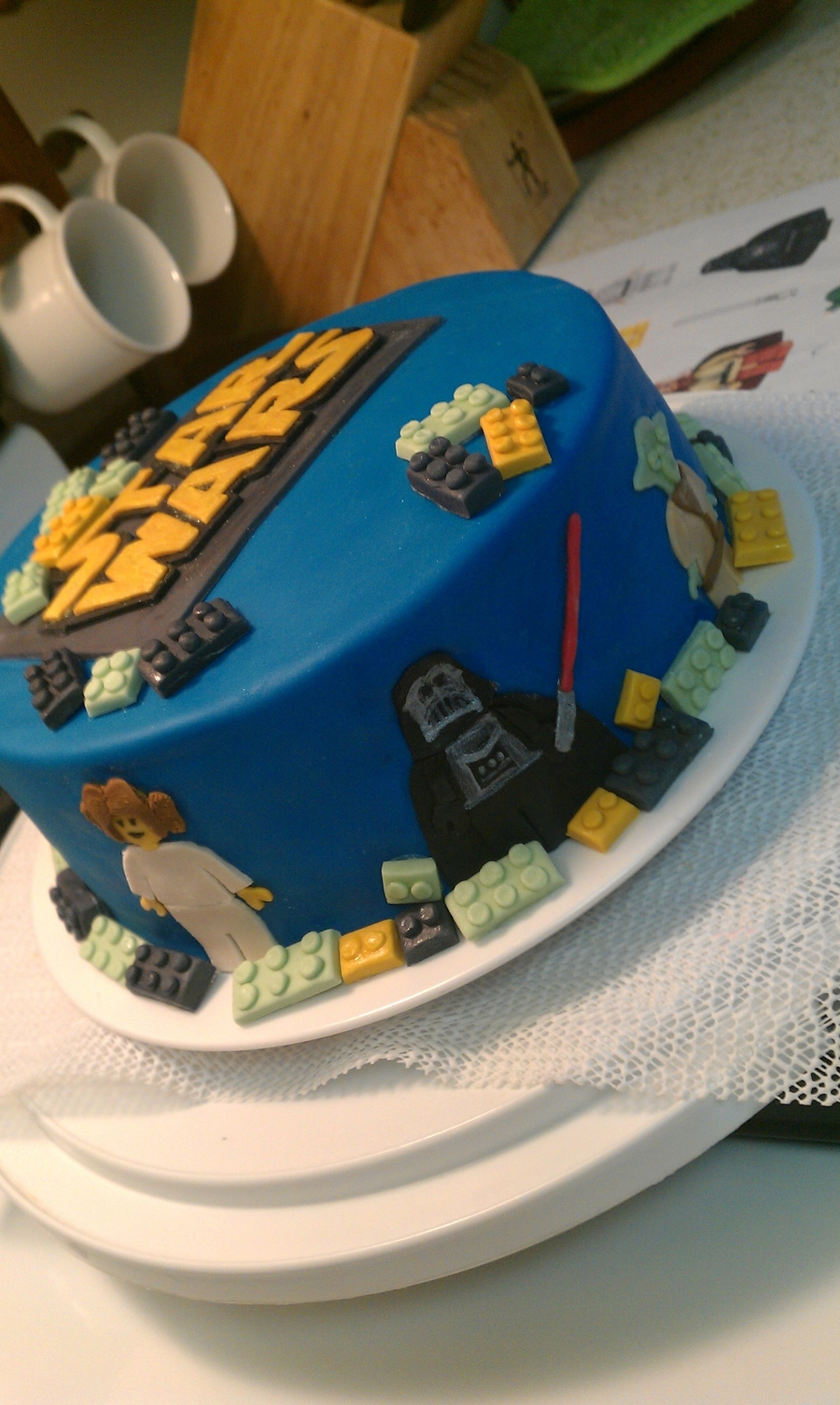 Lego Star Wars Cake Decorations