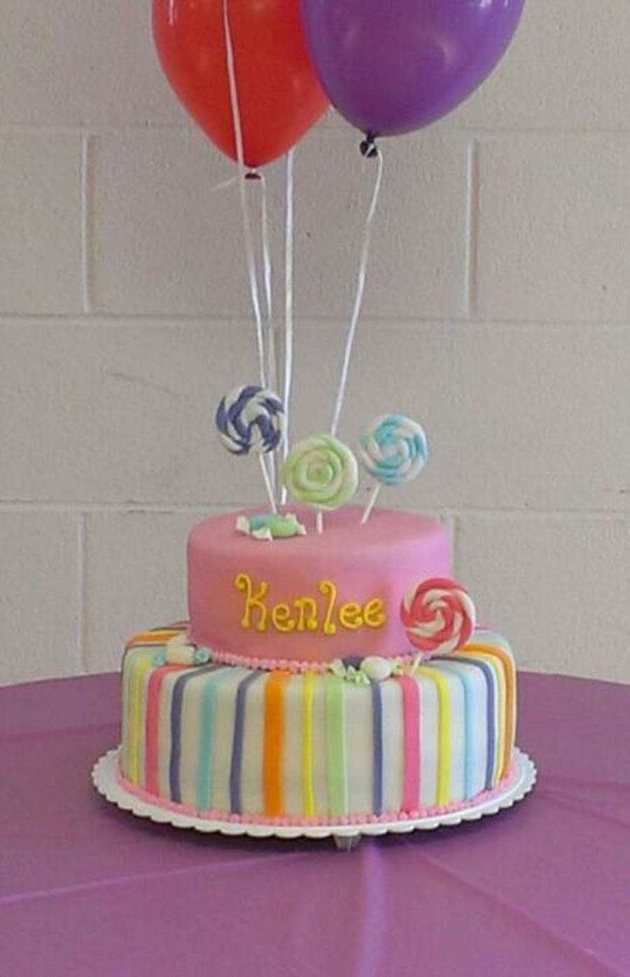Candy Theme Baby Shower Cake On Cake Central