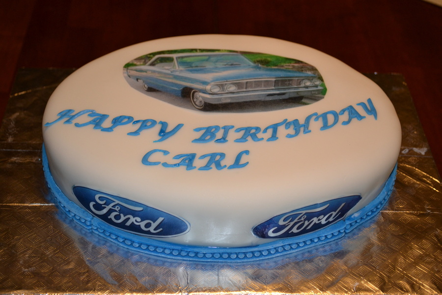 1964 Ford on Cake Central