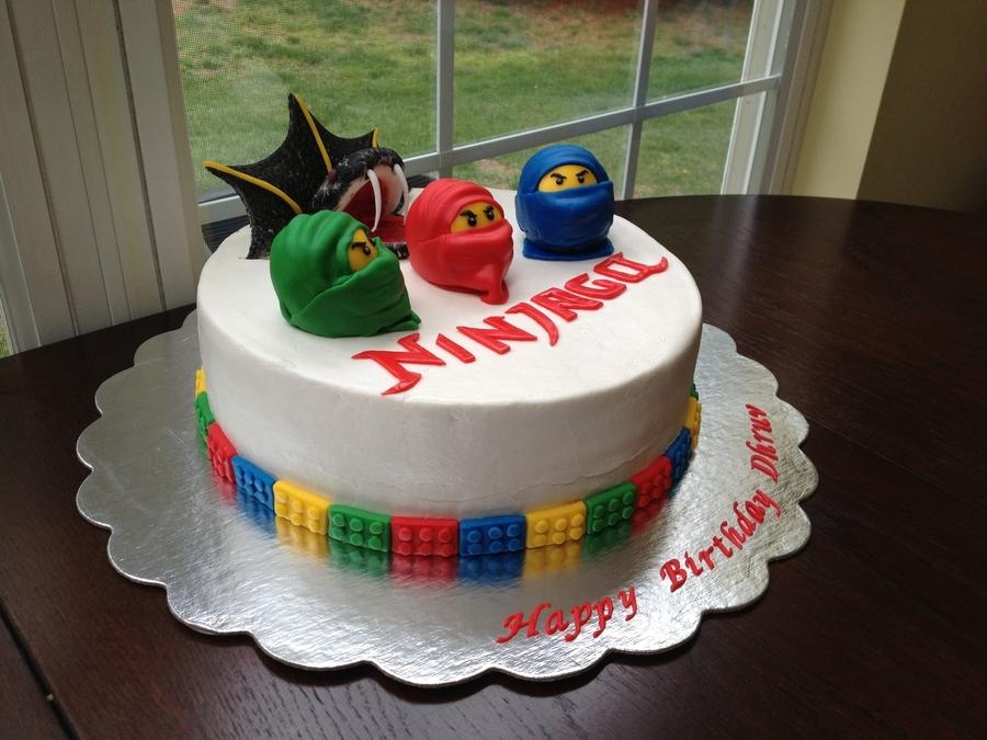 Ninjago Cake - CakeCentral com