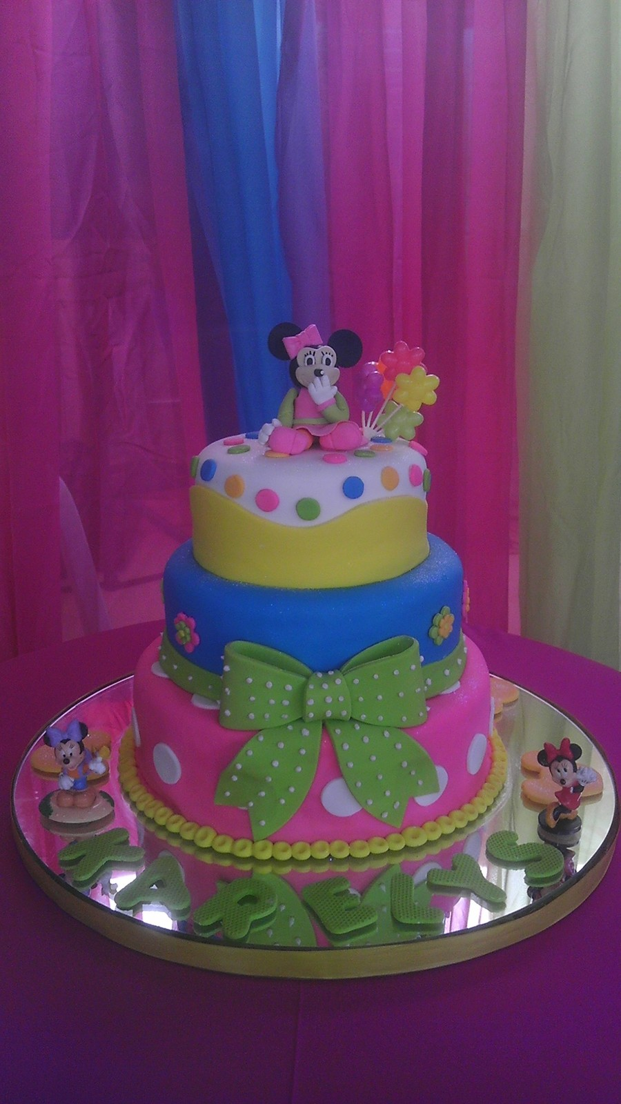Minnie Mouse Cake 2 on Cake Central