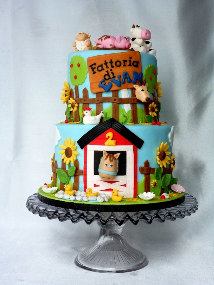 Animal Farm Cake Cakecentral Com