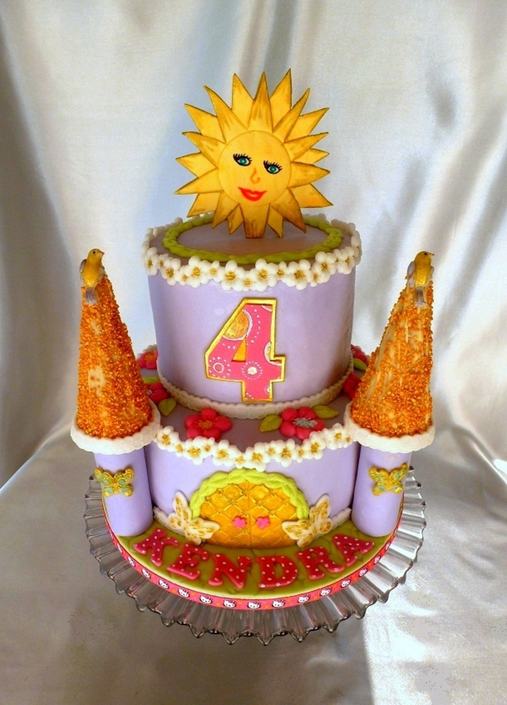 Sun Birthday Cake Cakecentral Com