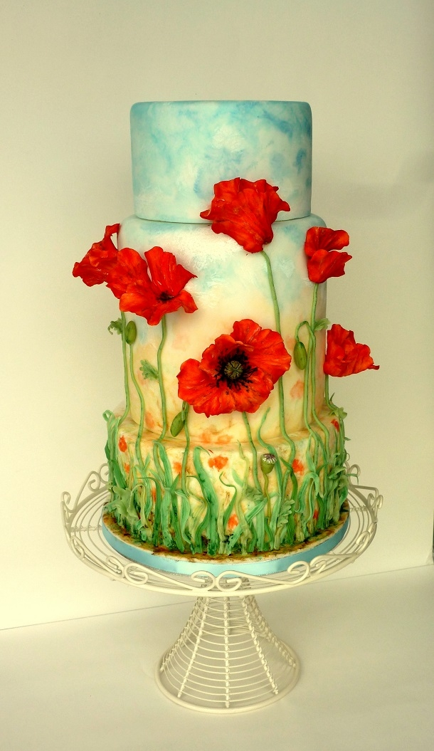 Poppy Decorated Cakes