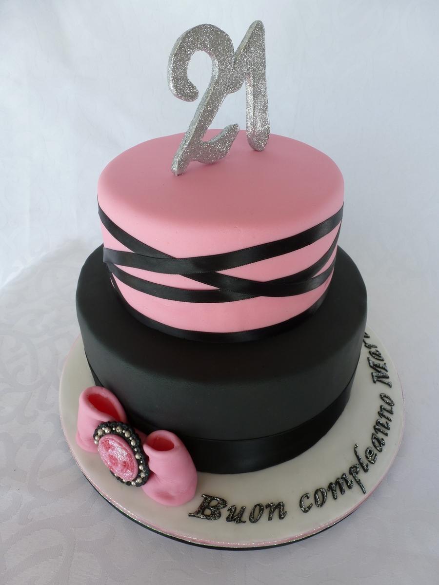 St Birthday Cake Ideas Black And White