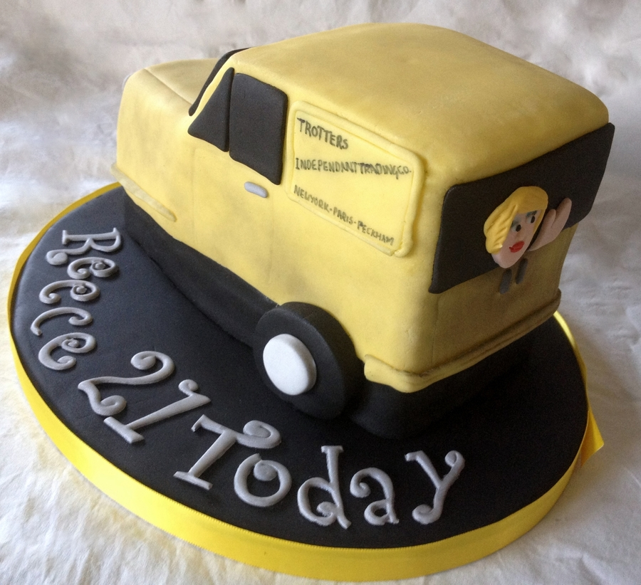 Del Boy S Van From Only Fools And Horses Cakecentral Com