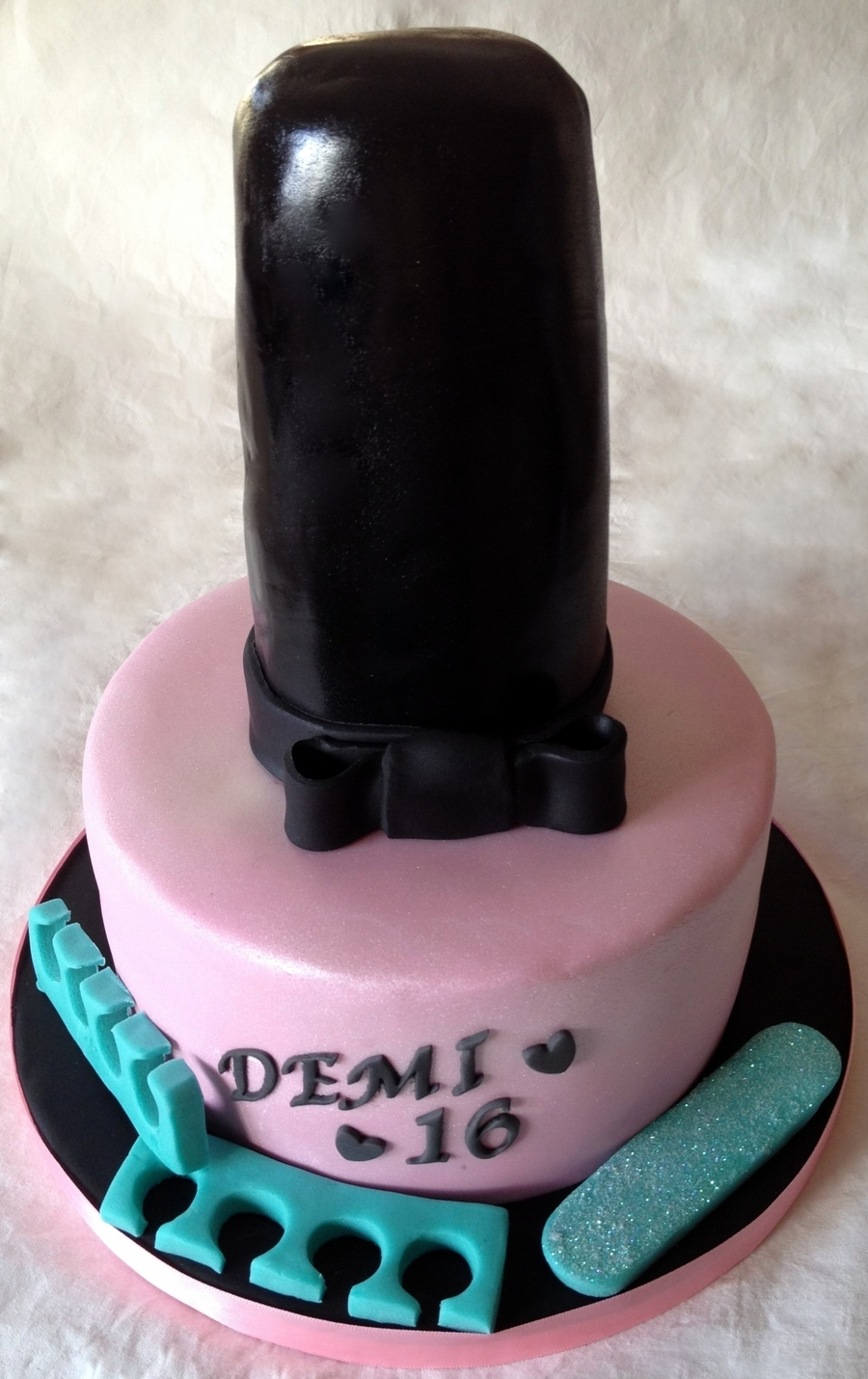 Nail Varnish on Cake Central