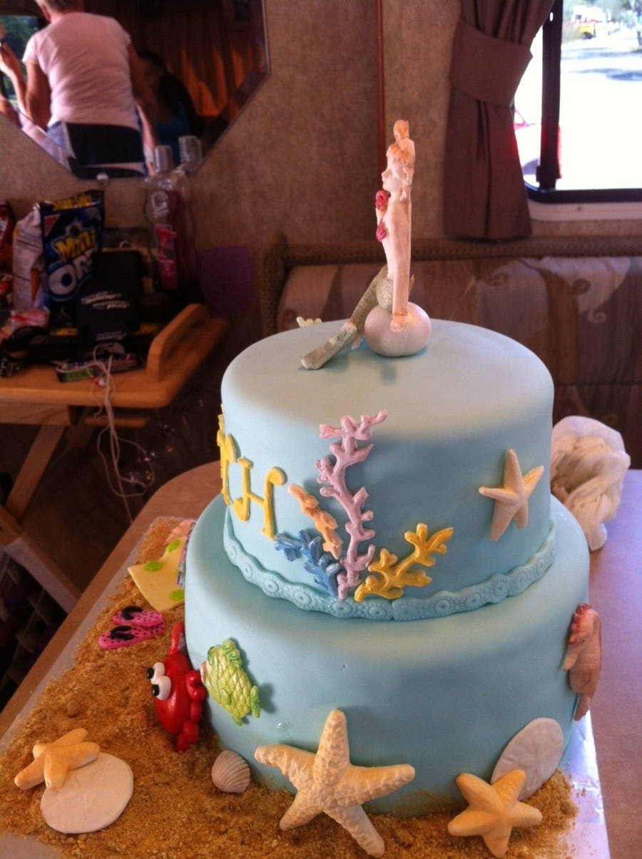 Sea Life Birthday Cake Cakecentral Com