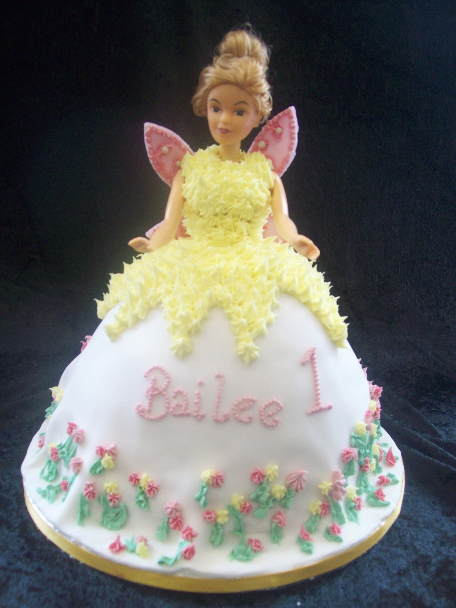 Fairy Princess Angel Cake CakeCentralcom
