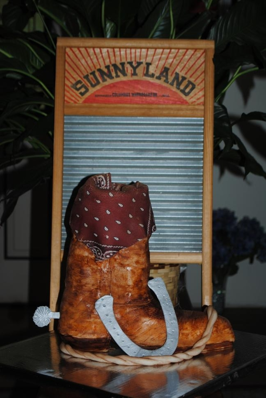 Cowboy Boot Cake on Cake Central