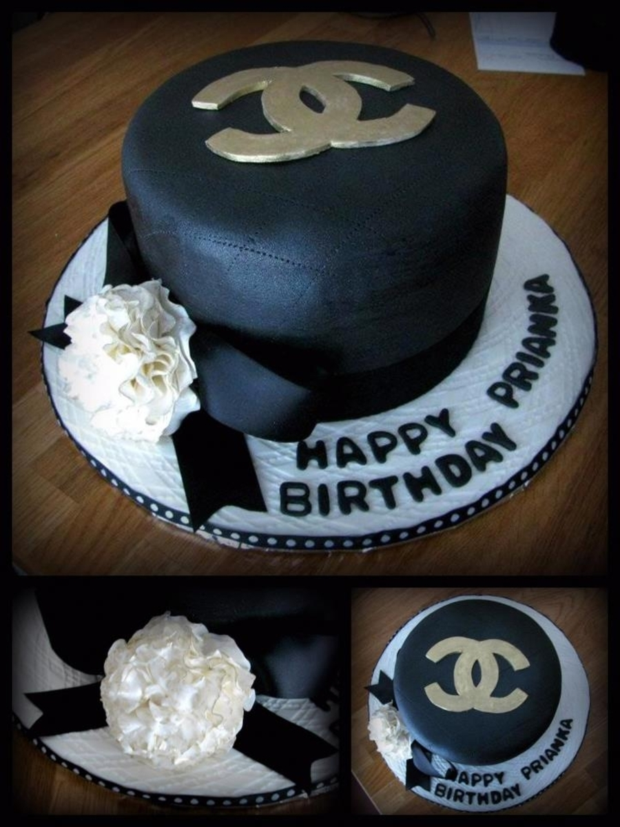 Chanel Mini Cake on Cake Central