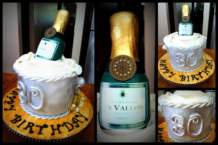 Champagne Cake on Cake Central