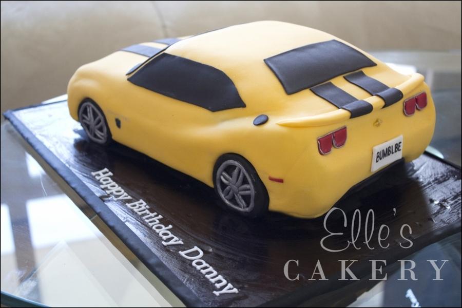 Transformers Bumblebee Camaro Cakecentral Com