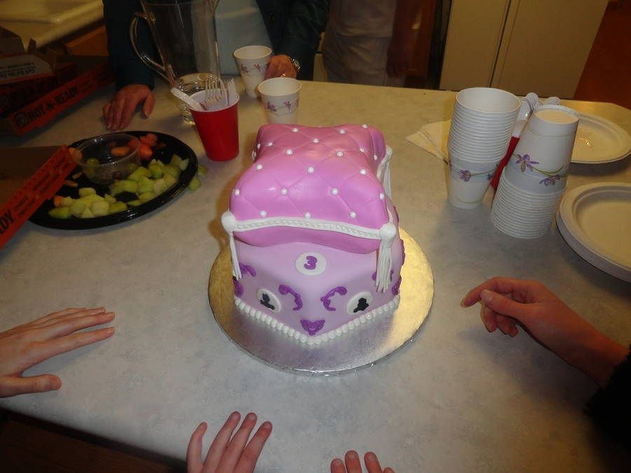 Princess Pillow Cake on Cake Central