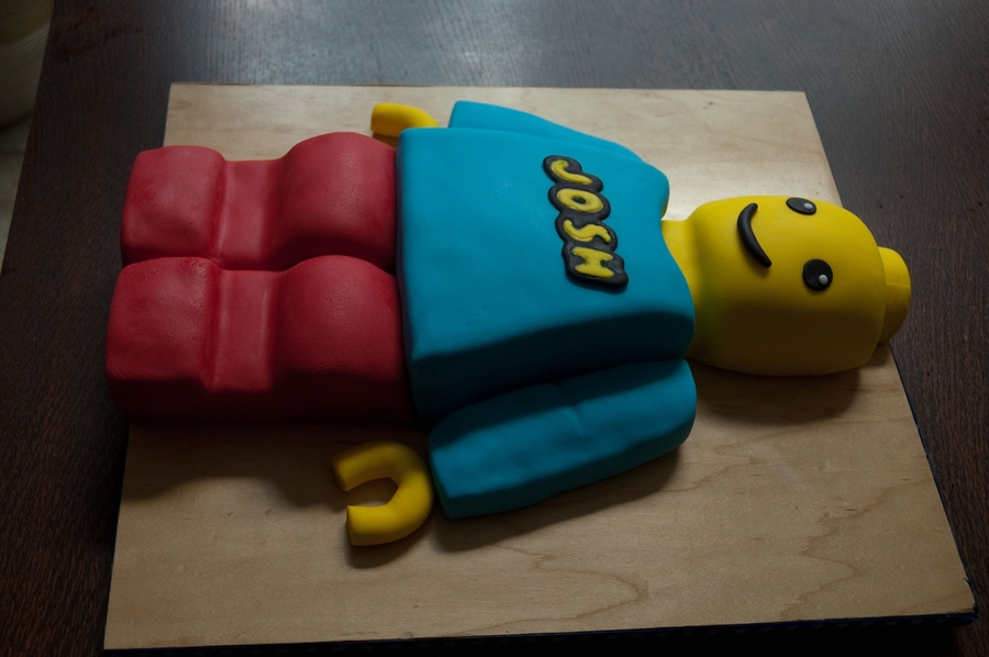 Lego Man Cake on Cake Central