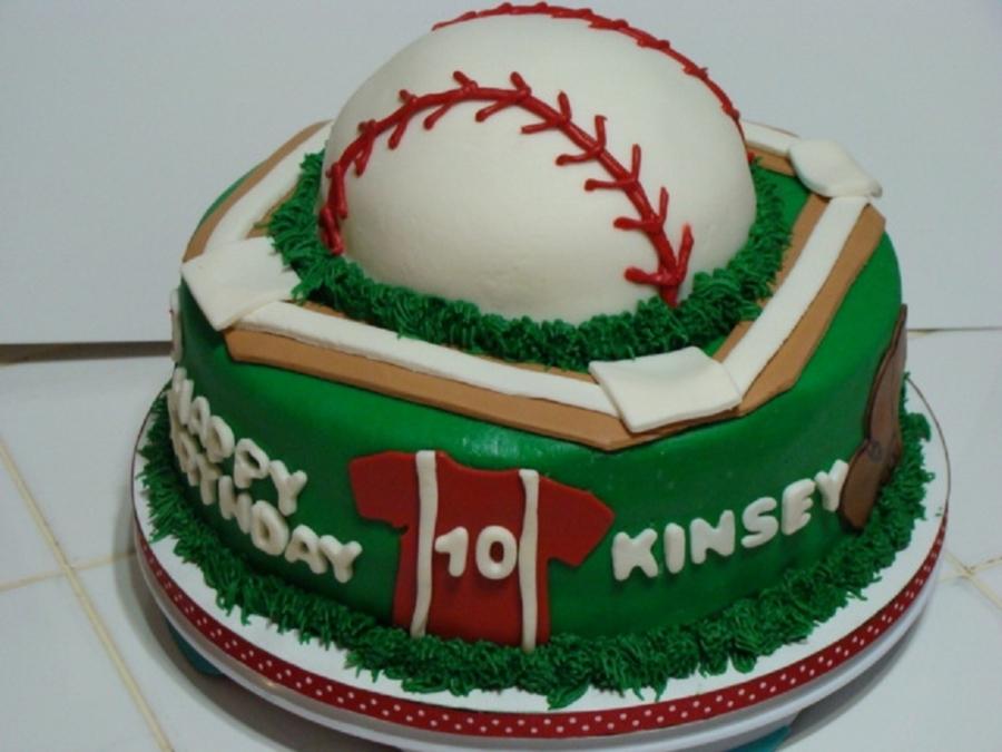 Softball Birthday Cake Cakecentral