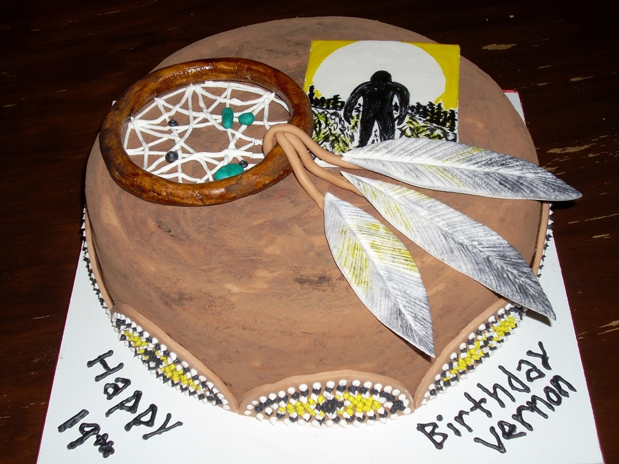 Native American Birthday Cake Cakecentral Com
