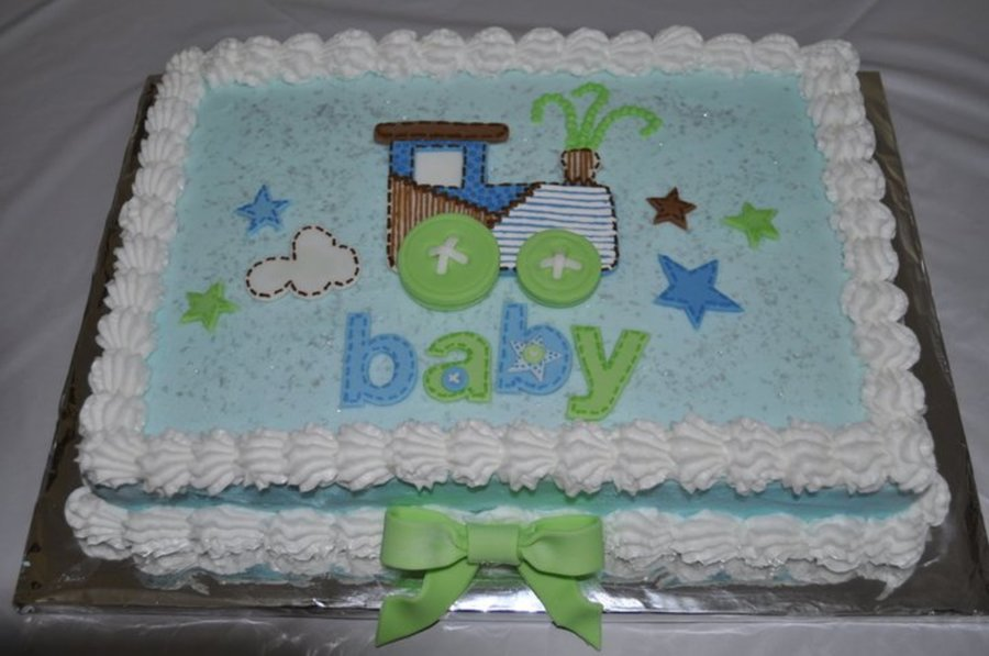 Boy Baby Shower Train Cake Cakecentral
