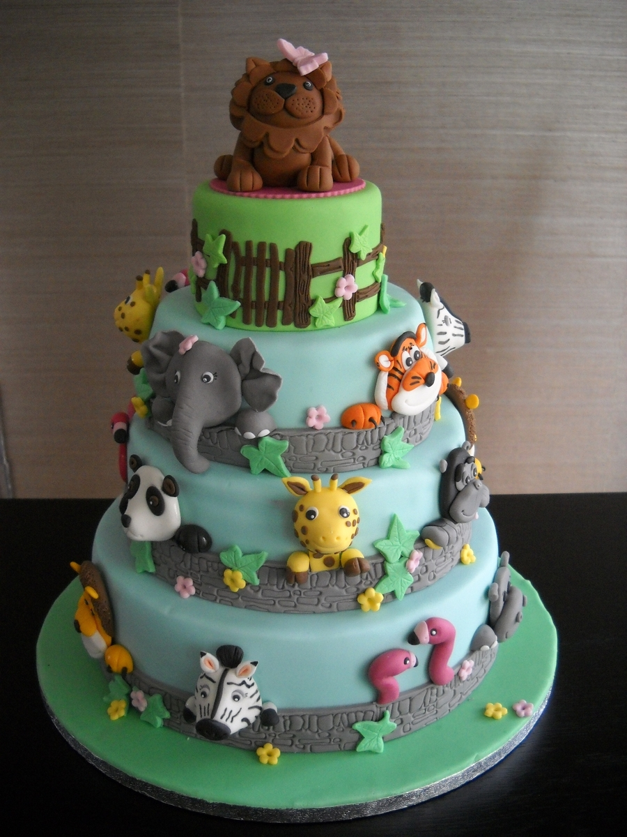 Animal Zoo Cake Cakecentral Com