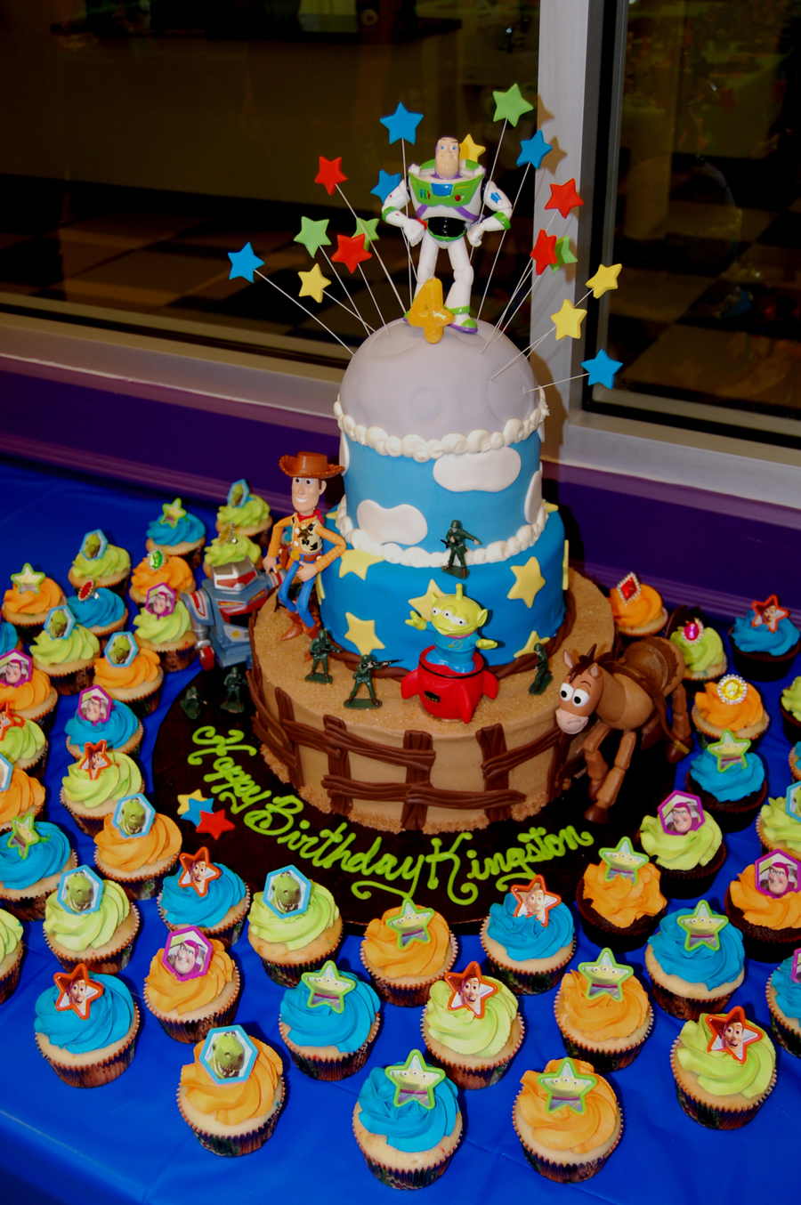 Toy Story Cake And Cupcakes  on Cake Central