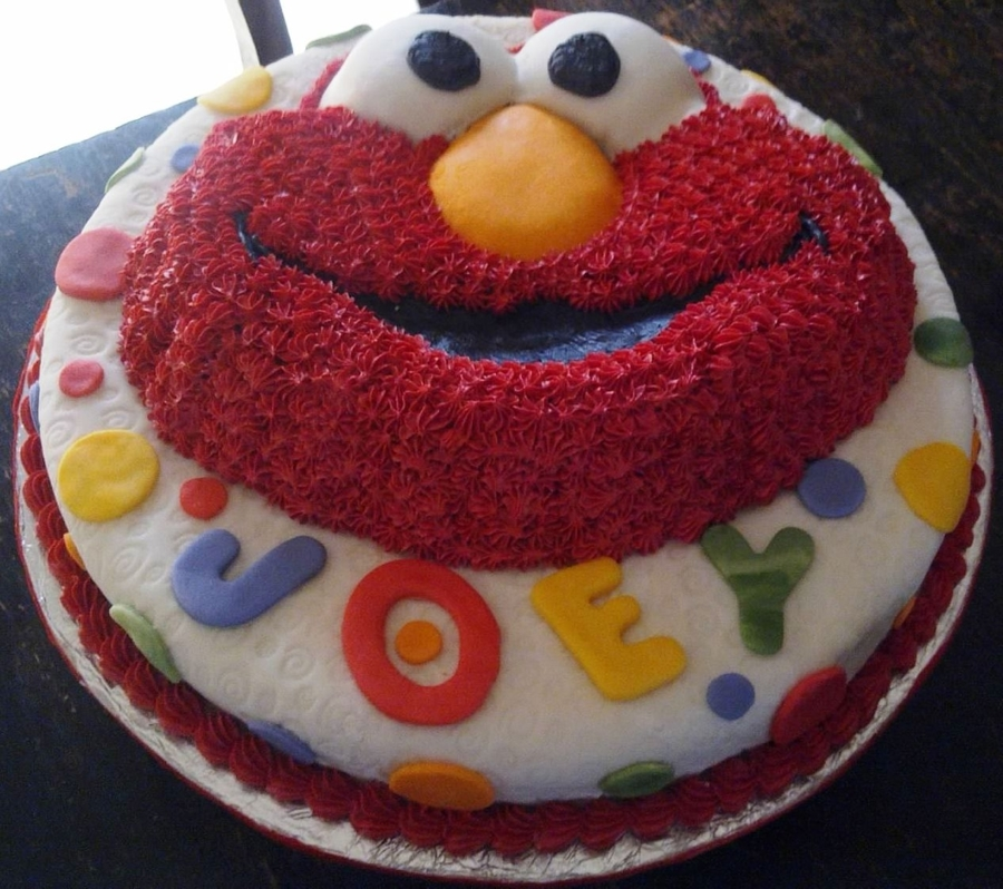 It's Elmo! on Cake Central