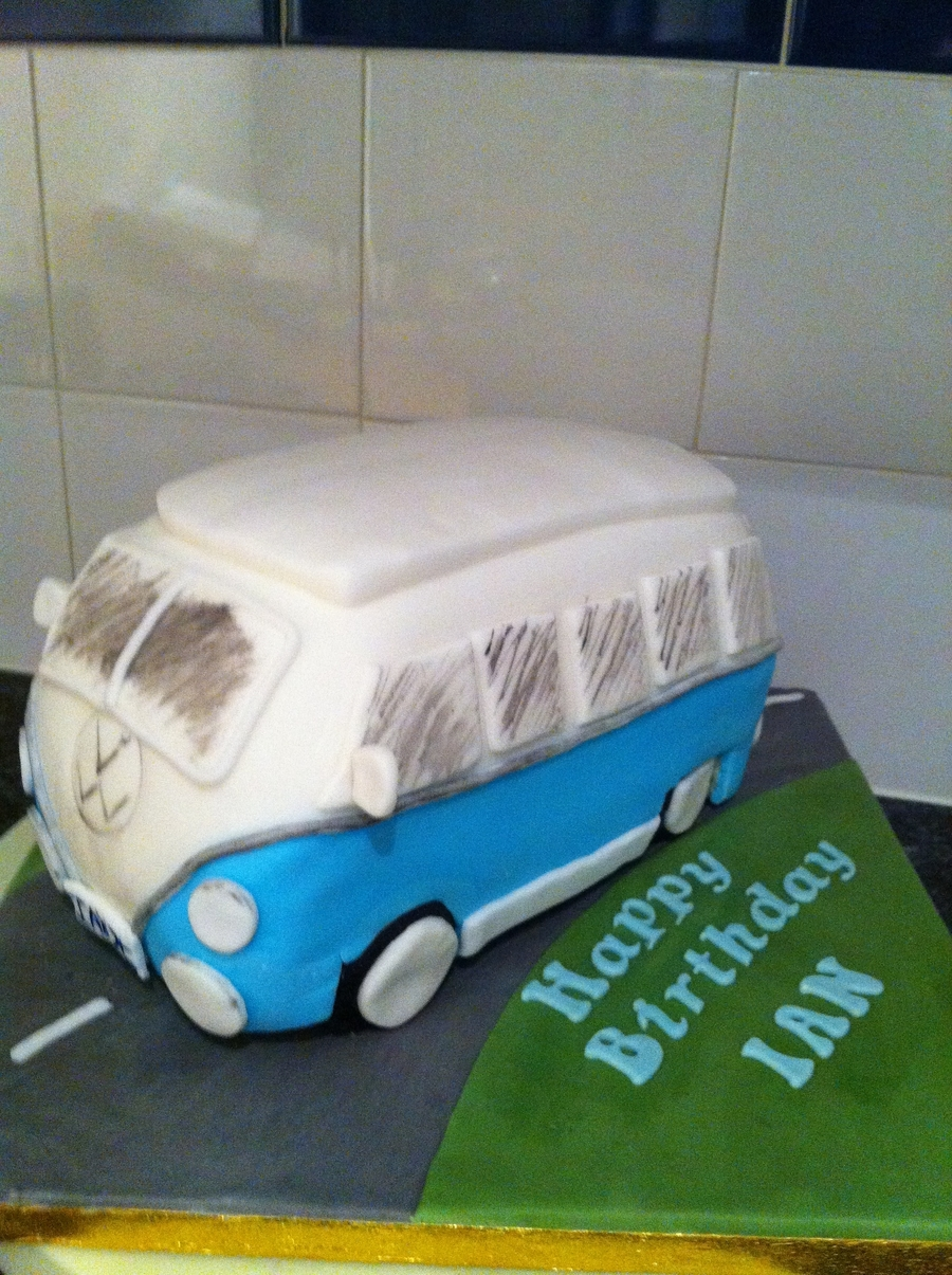 Camper Van on Cake Central