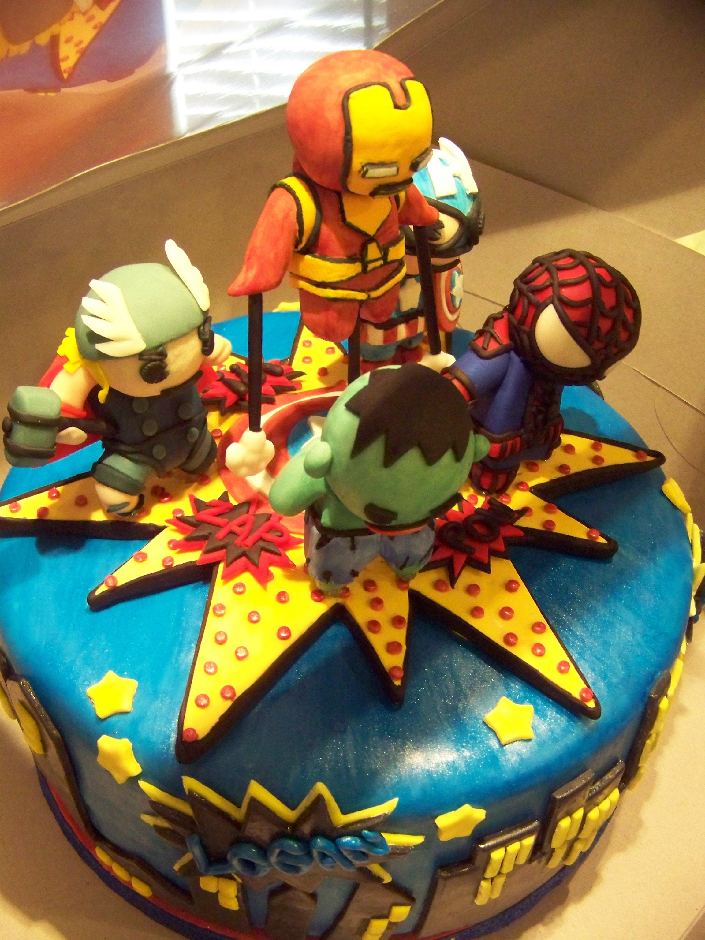 Little Marvel Avengers For 2 Yr Old S Birthday