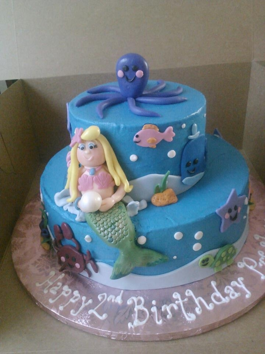 Mermaid Cake on Cake Central