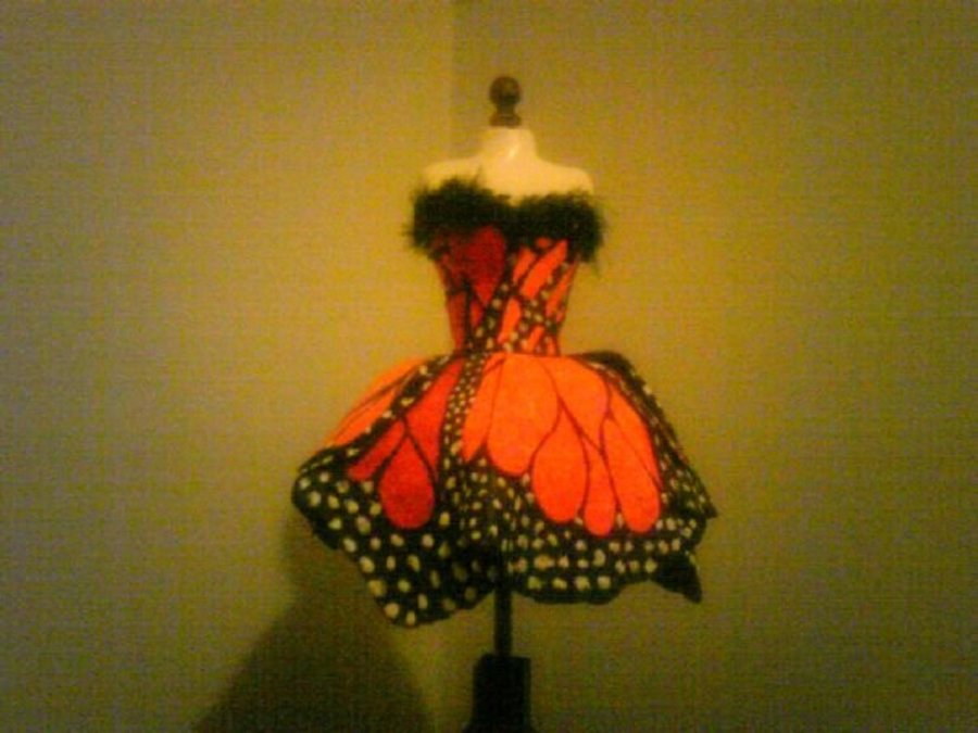 Butterfly Dress on Cake Central