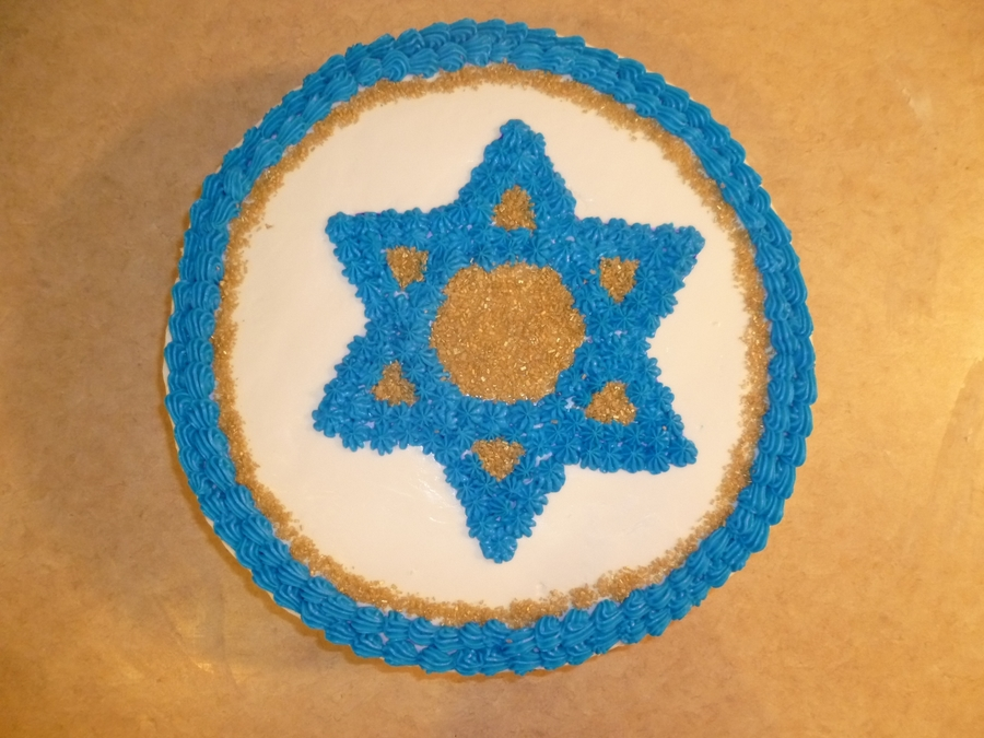 Star Of David on Cake Central