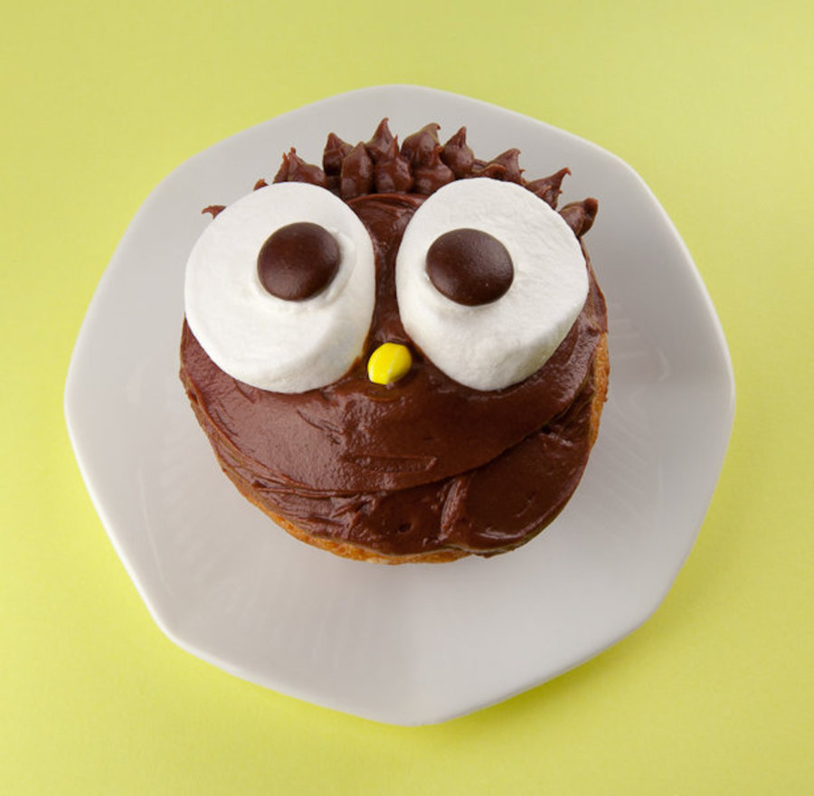 Owl Cupcake on Cake Central