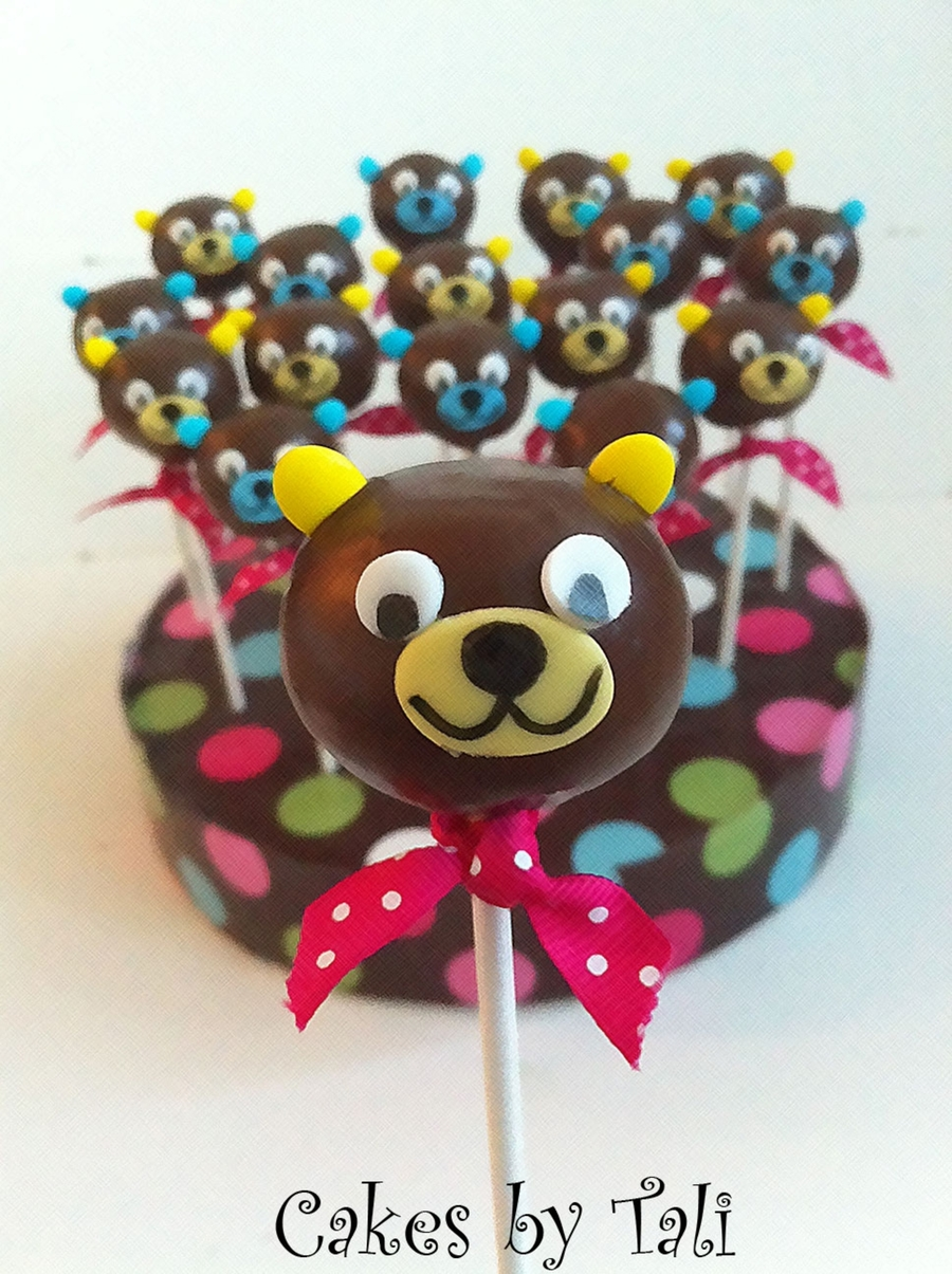 Teddy Bear Cakepops on Cake Central