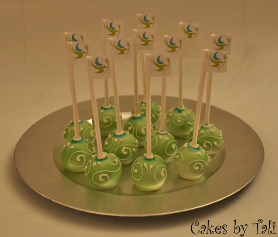 These Cake Pops Were Made For A Dream Dinner Employees Party on Cake Central