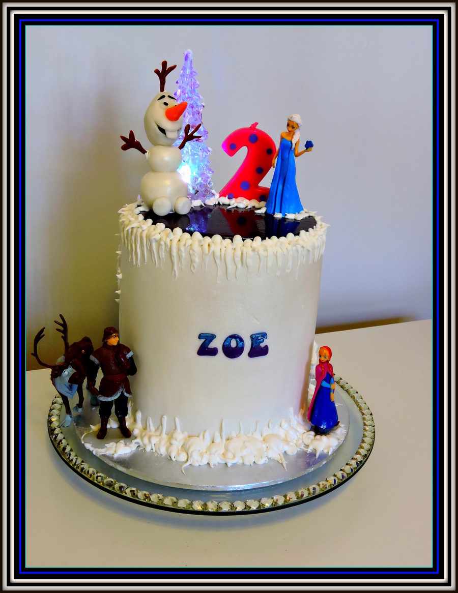 Zoes Frozen 2Nd Birthday CakeCentralcom