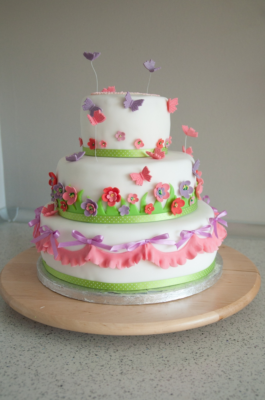 Happy Spring Time Cake on Cake Central