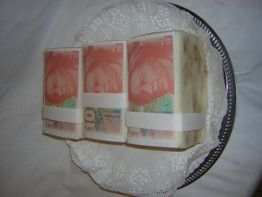 Stack Of Money Cake on Cake Central